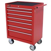 George Tools roller cabinet 7 drawer red