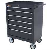 George Tools Roller cabinet 6 drawer grey