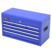 George Tools tool chest blue 6 drawers
