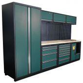Kraftmeister modular garage system Halifax Nextgen Green