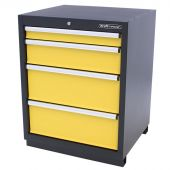 Kraftmeister cabinet 4 drawers Premium - Yellow