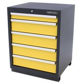 Kraftmeister 5-drawer cabinet Premium - Yellow