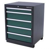 Kraftmeister 5-drawer cabinet Premium - Green