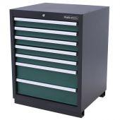 Kraftmeister cabinet 7 drawers Pemium - Green