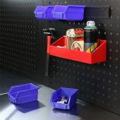 Kraftmeister storage bin, medium - Blue