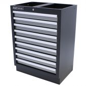 Kraftmeister tool cabinet with 9 drawers Standard grey