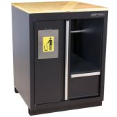 Kraftmeister Endurance Pro storage cabinet with bin and paper towel holder
