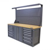 Kraftmeister workbench 200 M12D with tool panel Platinum