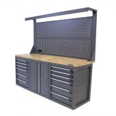 Kraftmeister workbench 200 E12D with tool panel Platinum