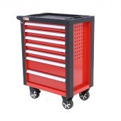 George Tools Redline Roller Cabinet with 7 drawers