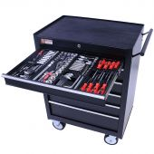 George Tools filled roller cabinet - 6 drawers - 209pcs