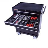 George Tools filled roller cabinet - 7 drawers - 209pcs