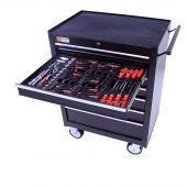 George Tools filled roller cabinet - 7 drawers - 80pcs