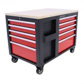 Kraftmeister roller cabinet - Mobile workstation Redline XL Premium - 10 drawer
